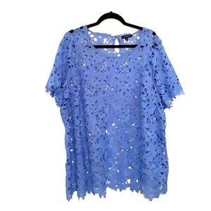 Lace/eyelet Top